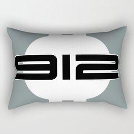912 Racing Design Rectangular Pillow