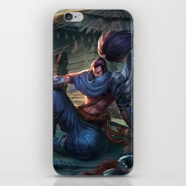 Classic Yasuo League of Legends iPhone Skin