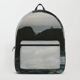 Crashing Waves on Cannon Beach Oregon Backpack