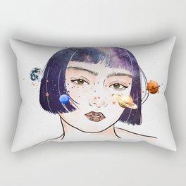 Night chaos. Rectangular Pillow