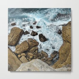 to the cliffs, to the sea Metal Print
