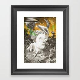 Where is your God Framed Art Print