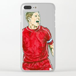 Gerrard Clear iPhone Case