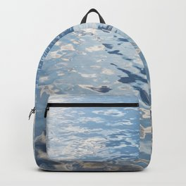Blue Tones On The Lake Surface #decor #society6 #buyart Backpack