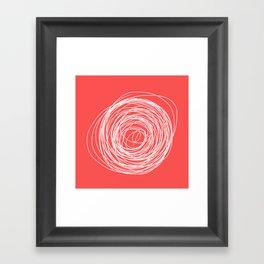 Nest of creativity Framed Art Print