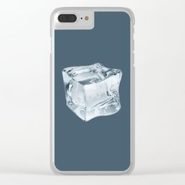 Stay Cool - dark Clear iPhone Case