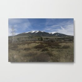 Humphreys Peak Metal Print
