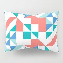 Angled Reflected Artwork Pillow Sham