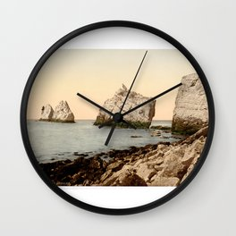 The Needles, Isle of Wight Wall Clock