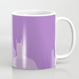 The Bat Purple Fading Away Coffee Mug