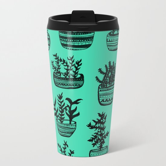 Grow Up Metal Travel Mug