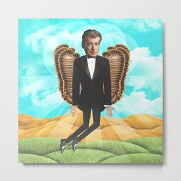 Pierce Brosnan my messiah Metal Print