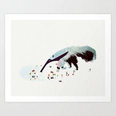 Anteater Art Print