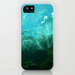 Where the Merfolk Dwell iPhone Case
