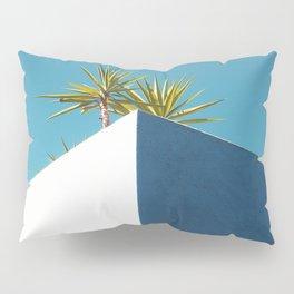Cactus blue white Pillow Sham