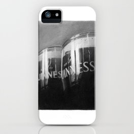 Guinness glasses iPhone Case
