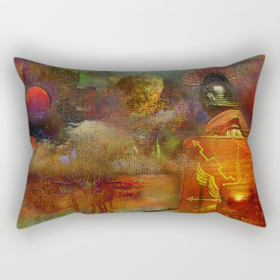 The fall of the Roman Empire Rectangular Pillow