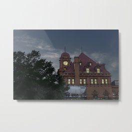 Nights at the Station Metal Print