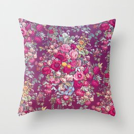 """Eternal spring"" - The bouquet Throw Pillow"