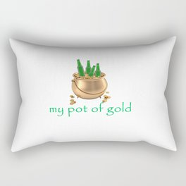 My Pot of Gold Rectangular Pillow
