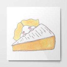 Cheesy Metal Print