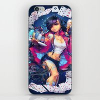 barachan iPhone & iPod Skins featuring seventh heaven by barachan