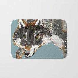 Totem Dark European Wolf Bath Mat