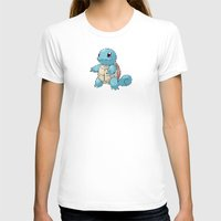 squirtle T-shirts featuring PIXELATED SQUIRTLE by DrakenStuff+
