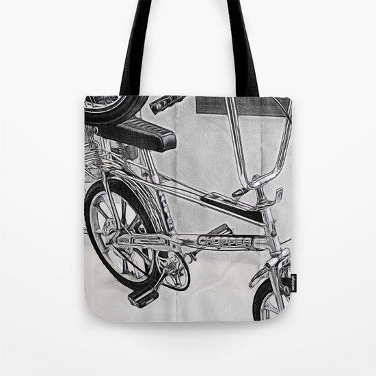 70s Iconic Bike Uk Tote Bag