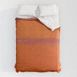 Orange Red and Yellow - Mark Rothko Comforters