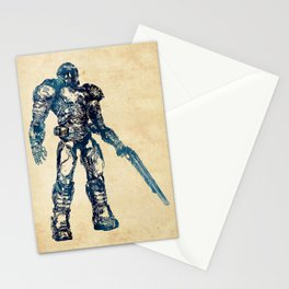 Doom Marine Stationery Cards