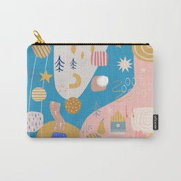 Abstract Patterns Carry-All Pouch