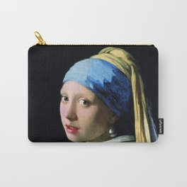 Jan Vermeer Girl With A Pearl Earring Baroque Art Carry-All Pouch
