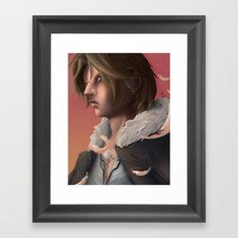 Squall Leonhart - Final Fantasy 8 Framed Art Print