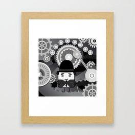 Charlot - Funny Cubes Series Framed Art Print