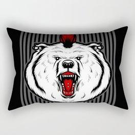 Punk Bear Rectangular Pillow