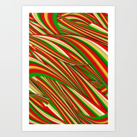 Lov Xmas Art Print