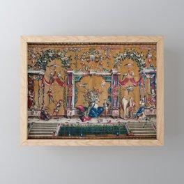 The Camel Framed Mini Art Print