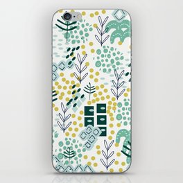 Landscape in Teal iPhone Skin