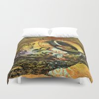 cracked Duvet Covers featuring Cracked by BeachStudio