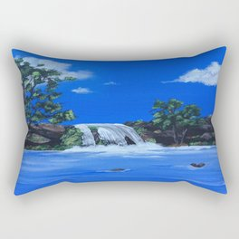 Morning Waters Rectangular Pillow
