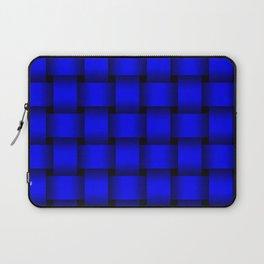 Large Blue Weave Laptop Sleeve