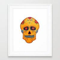 phil jones Framed Art Prints featuring Phil  by Bianca Iarrobino