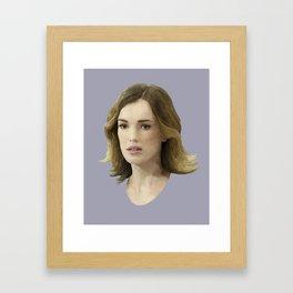 Jemma Simmons Framed Art Print