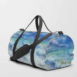 Colorful sea Duffle Bag