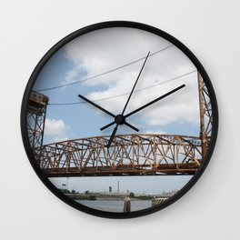 9th Ward Claiborne Bridge Wall Clock