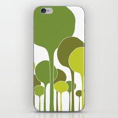 Green palette iPhone & iPod Skin