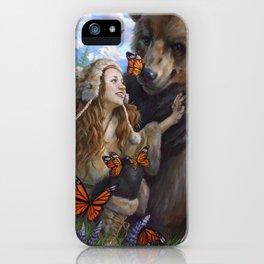 Girl's Best Friend iPhone Case