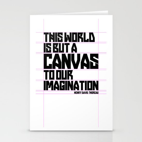 This World... Stationery Cards