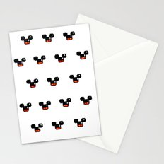 8 Bit Mouses  Stationery Cards